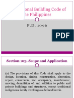 The National Building Code of the Philippines PPT