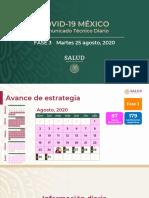 CP Salud CTD Coronavirus COVID-19, 25ago20