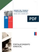 Cuenta Pública 2010 - Mintrab Tarapacá