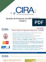 Gestión de Proyectos con MS Project - Clase 1 (CCIRA Capacitaciones)