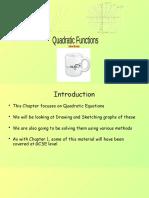 2) C1 Quadratic Functions