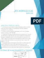 REDES HIDRAÚLICAS EDIFICIOS