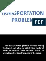 Transpo Model Presentation