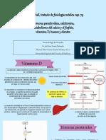 Activación de vitamina D, PTH y calcitonina