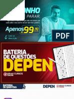 Lei 7.210_84 (LEP) - Bateria de Questões - Diego Fontes