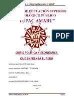 Crisis politica y economica-JOSUE DANIEL HUILLCA MAMANI