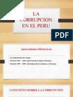LA CORRUPCION EN EL PERU DIAPOSITIVAS