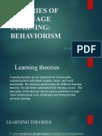 1. Behaviourism