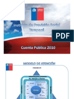 Cuenta Pública - IPS