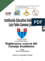 to Del Consejo Academico 2011