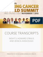 Healing Cancer World Summit 2012