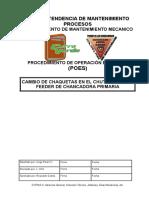 POE Cambio de chaquetas en el chute de apron feeder de Chancadora Primaria.doc