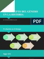 EL CONCEPTO DEL GÉNERO EN LA HISTORIA