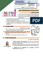 LOS DERECHOS HUMANOS - QUINTO DE SENCUNDARIA