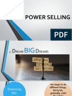 THE POWER SELLING