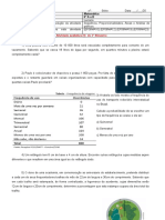 Luciana -  8° ano - Matemática - Atividade Avaliativa 1 - 3° Bimestre