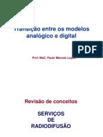 Transição entre os modelos analógico e digital