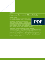 Workbook Measuring Social Media Impact