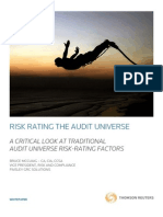 Thomson_Risk Rating the Audit Universe