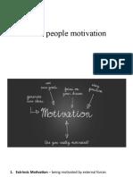 sales people motovation