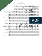 Love Me Do (3) - Full Score
