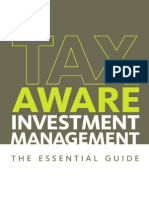 Tax Aware Investment Management