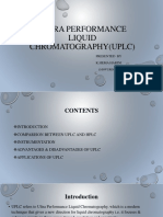 Ultra Performance liquid chromatography(uplc)-converted