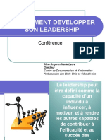 COMMENT DEVELOPPER SON LEADERSHIP