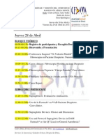 III SYMPOSIUM DIFFICULT AIRWAY MANAGEMENT BROCHURE. Save the date Avril 28-29 2011