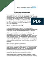 Epiretinalmembranepatientinformationleaflet