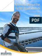Reference Manual for Oyster Aquaculturits