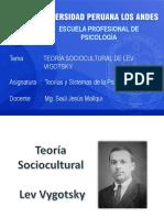 Semana 15 2020-I Teoría Sociocultural