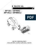 SP12C - SP14CJ Service manual