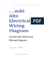 Suzuki Alto Electrical Wiring Diagram