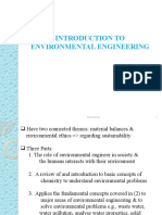 INTRODUCTION TO ENVIRONMENTAL ENGINEERING ETHICS