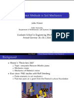 Finite Element Methods in Soil Mechanics
