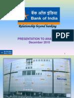 Bank of India Q3 FY 2011( Dec 2010)