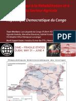 entrepreneuriat agricole RDC