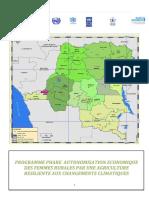 Democratic Republic of Congo Programme Phare - Autonomisation economique des femmes rurales par une agriculture resiliente aux changements climatiques