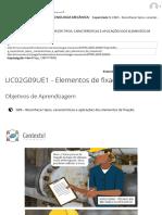 UC02G09UE1 - Elementos de fixação_ roscas _ FUNDAMENTOS DA TECNOLOGIA MECÂNICA