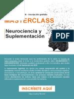 masterclass neurociencia y suplementacion
