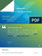 2020-04-29 - FR - NUTANIX - Nutanix Sizing Academy