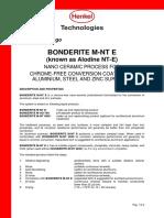 BONDERITE M-NT E
