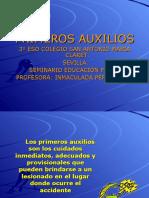 PRIMEROS AUXILIOS PARA ALUMNOS.ppt