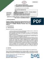 Tutela de Alcaldía de Soledad contra CNSC