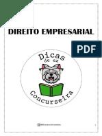 Empresarial - Caderno Ex concurseira