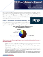 Fact Sheet - Will China's Future Be Cleaner