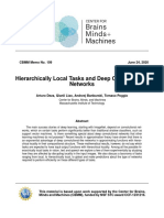 Hierarchically Local Tasks and Deep Convolutional