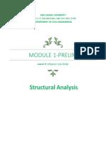 Module 1 - Les #9; Influence Line-Girder