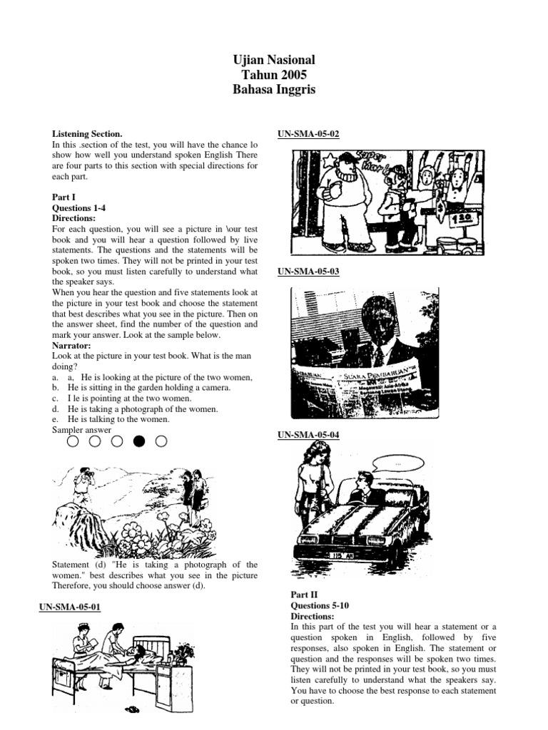 Ujian Nasional Bahasa Inggris Sma Tahun 2005 Kurt Cobain